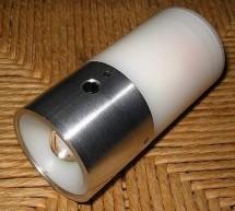 A high power LED flashlight