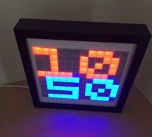A decorative LED frame