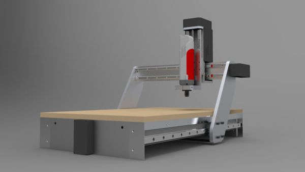 Building your own CNC router milling machine