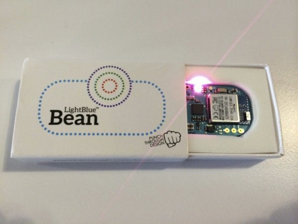 Hands on with the Light Blue Bean