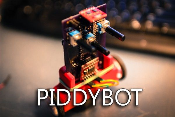 PIDDYBOT A Self Balancing Teaching Tool