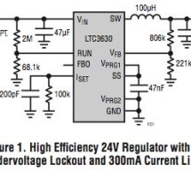LTC Design Note: 65V 500mA step-down converter