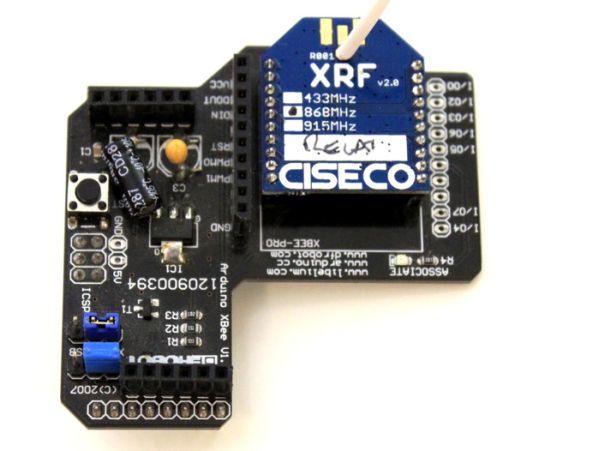 SRF Shield  Instant wireless networking for Arduino