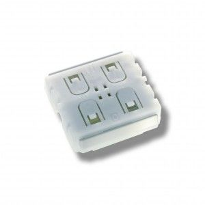 Self-powered switch to control LED lighting