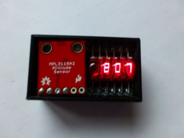 The Ultimate Altimeter – A compact, Arduino altimeter
