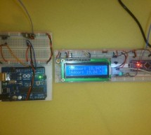 Indoor/outdoor wireless thermometer using Arduino