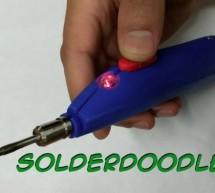 Solderdoodle: Open Source USB Rechargeable Soldering Iron
