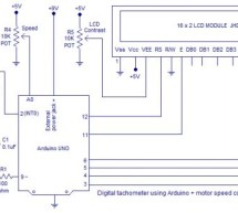 Tachometer using arduino