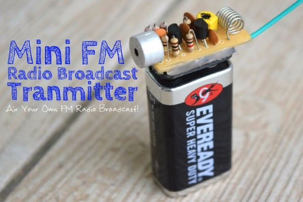 The Ultimate FM Transmitter (Long Range Spybug) -Use Arduino for