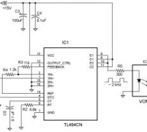 Variable HV power supply employs photovoltaic optocoupler