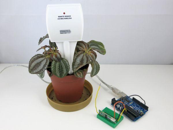 Reverse Engineer a Cheap Wireless Soil Moisture Sensor