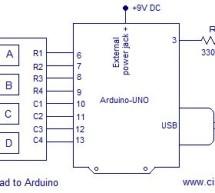 Simple digital code lock using arduino