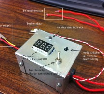 A simple temperature control system (for 3D print or other constant temperature control purpose)