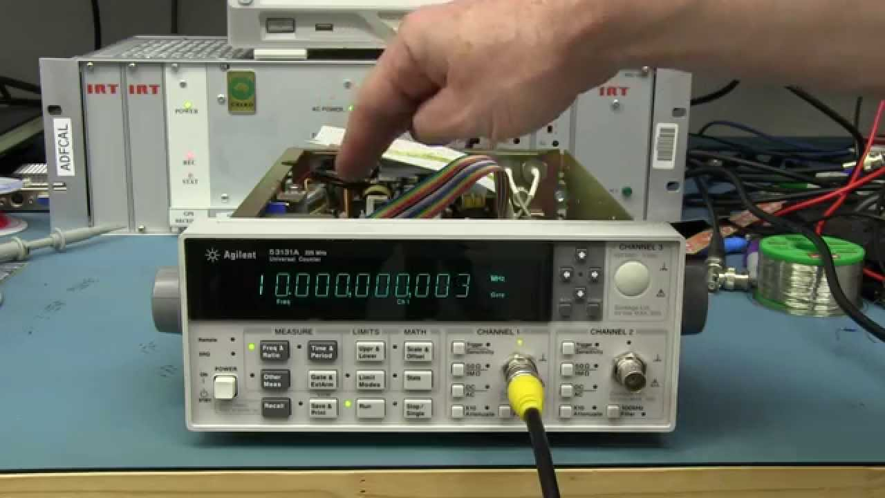EEVblog #646 – Gravity Detection Using A Frequency Counter!