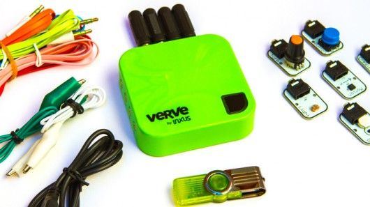 Verve 2 is like Arduino for people without programming skills