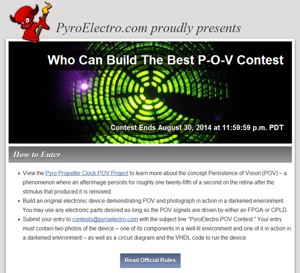 Who Can Build The Best P-O-V Contest