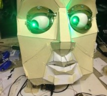 Animatronic Eyes and Wii Nunchuck Part 2 using Arduino