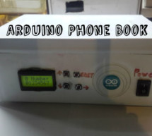 Arduino Phone Book