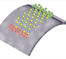 Atomically thin Piezo Material