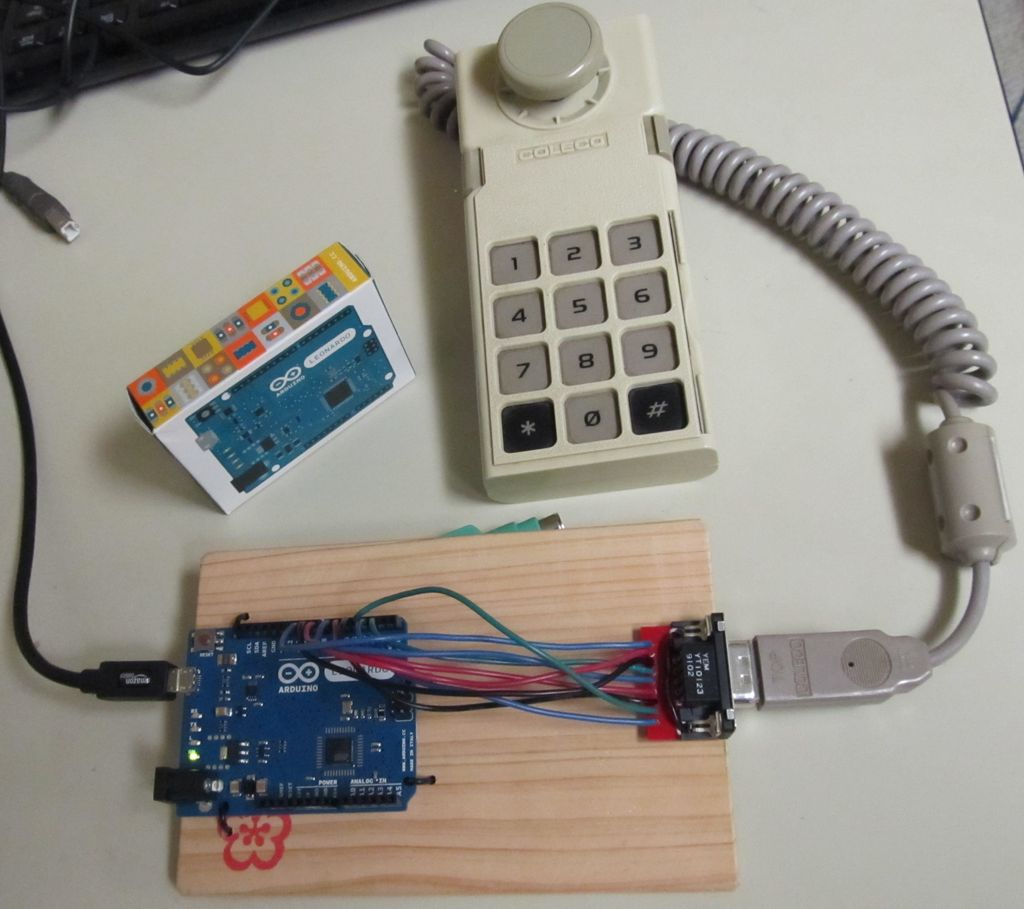 Classic Joystick to USB Adaptor using Arduino