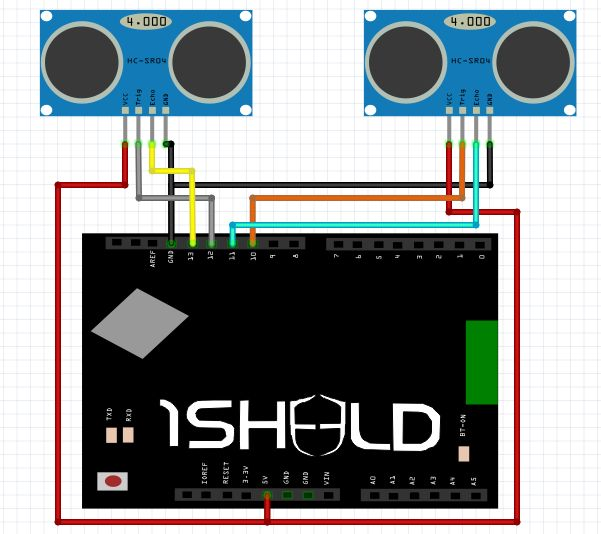 DIY navigation device for blind people using Arduino and Android smart phone circuit