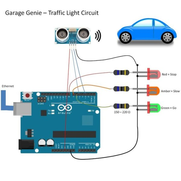 Garage Genie Parking Amp Remote Control Using Arduino Use