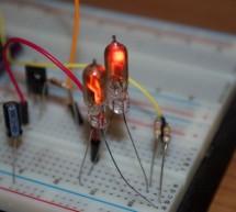 Flashing a Nixie with an Arduino