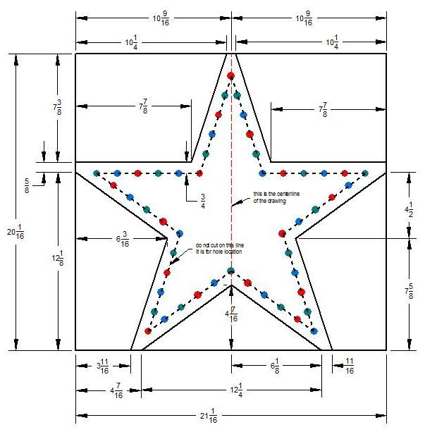 Led Star with Arduino and WS2811 Neopixels circuit