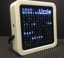 Personalised Word Clock using Arduino