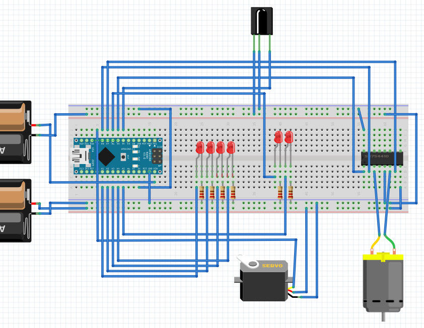 Pimp My Zoomobil using Arduino circuit