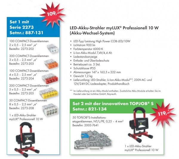 Prolong the short days with a Wago autumn special offer