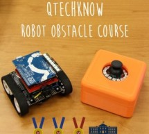 Qtechknow Robot Obstacle Course using Arduino