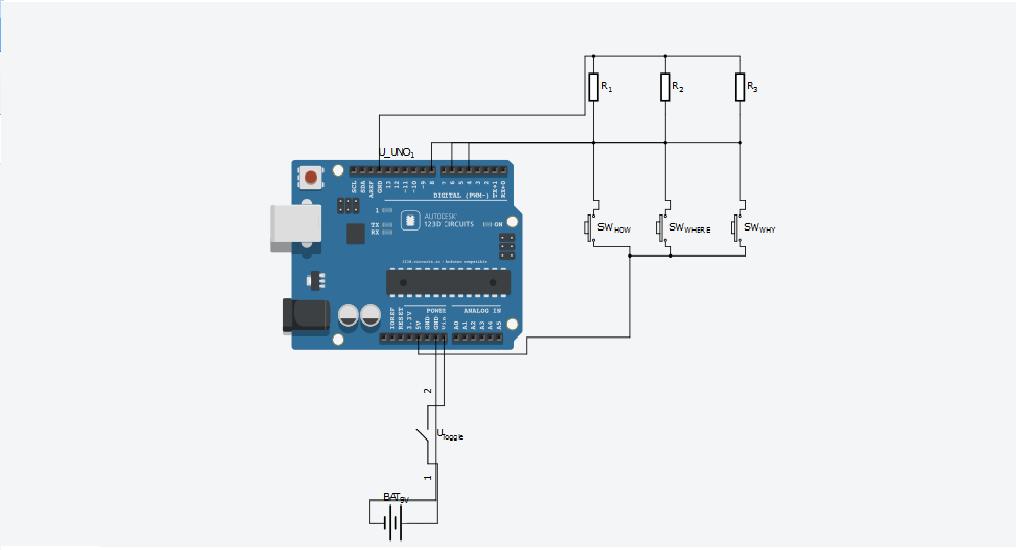 Quantifying Access to your Mind using Arduino schematic