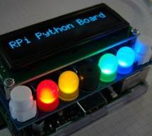 RPi Board, a board to learn Python with the Raspberry Pi