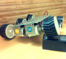 Six wheeled All Terrain Vehicle (6WD) using Arduino
