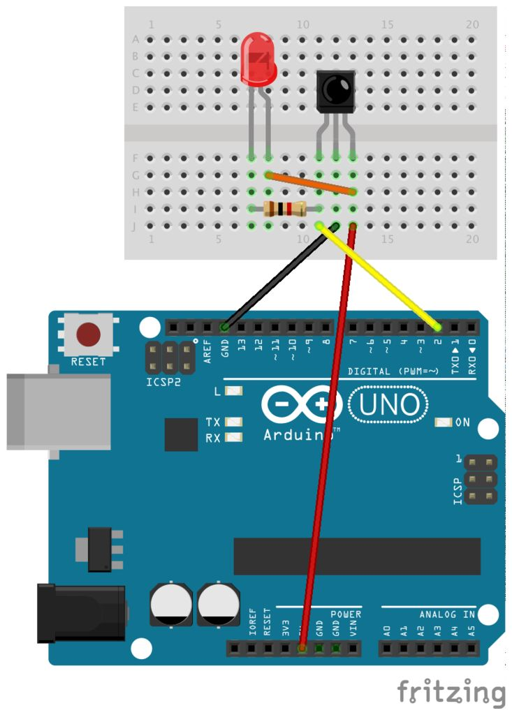 Smart Homer Web-enabled TV remote using Arduino circuit