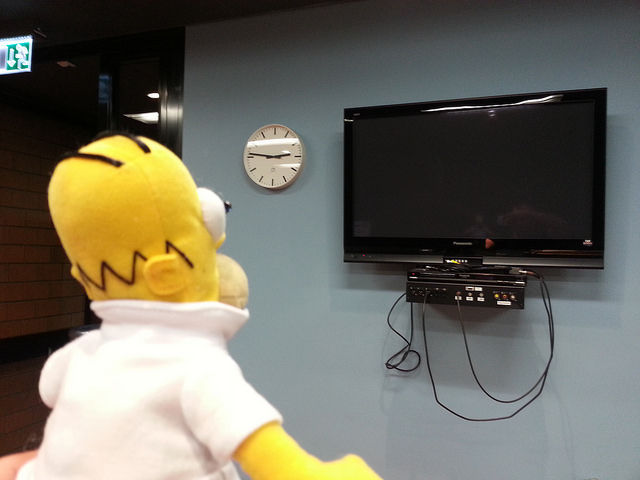 Smart Homer Web-enabled TV remote using Arduino