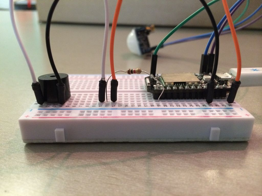 The Jack'O Lantern Early Warning System using Arduino circuit