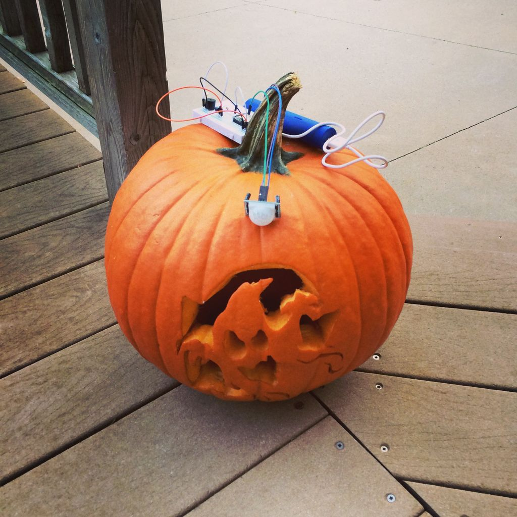 The Jack'O Lantern Early Warning System using Arduino