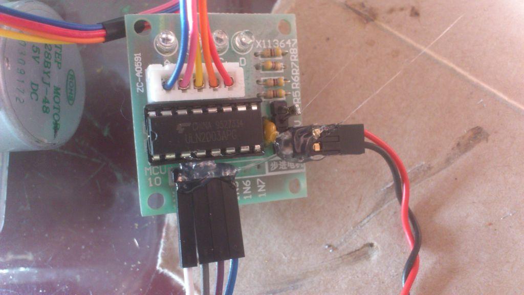 The all in one box aquarium feeder using Arduino circuit