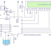 Water level controller using arduino