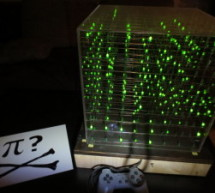 8x8x8 LED Cube with Arduino Mega (+Sound +PS controller +Game)