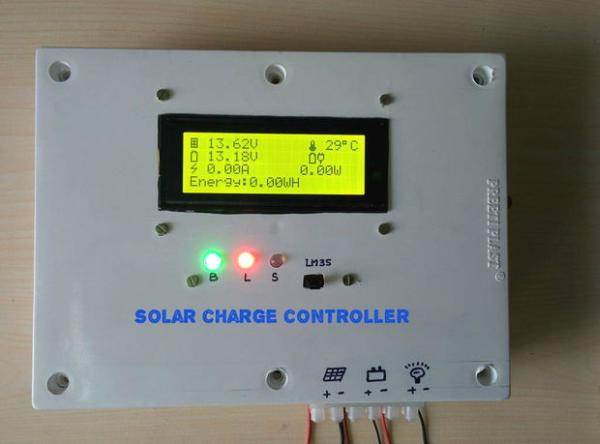 Arduino Solar Charge Controller Version 2 0 Use
