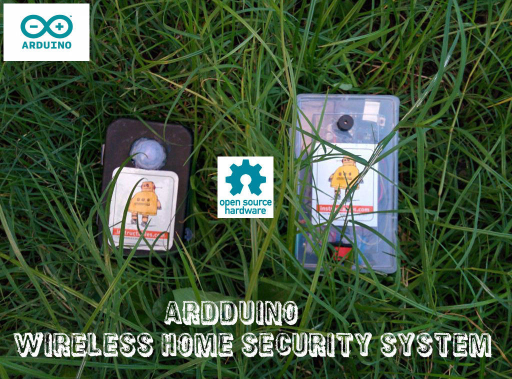 ARDUINO WIRELESS HOME SECURITY SYSTEM