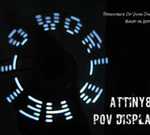 ATtiny85 POV Display using arduino