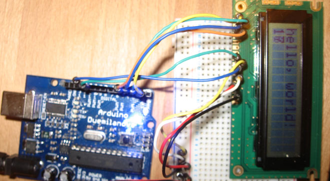 Arduino – Getting my LCD Screen to work