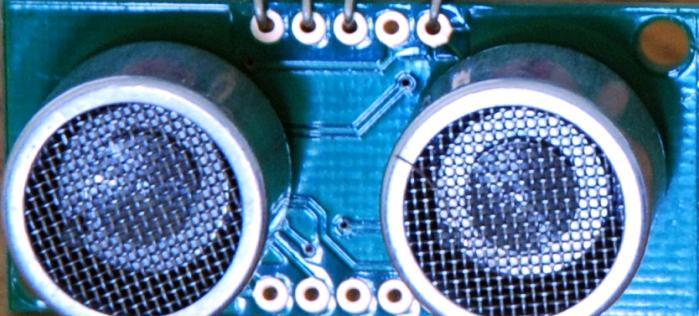 Arduino – Sonic range finder with SRF05