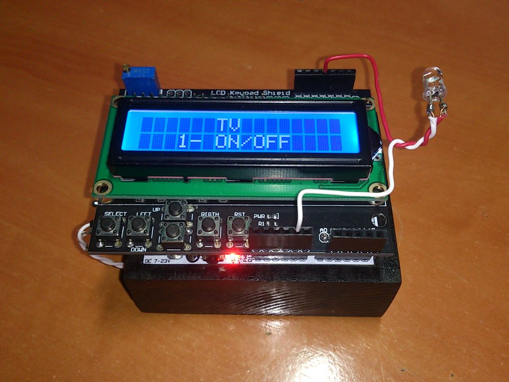 Arduino All-In-One Remote