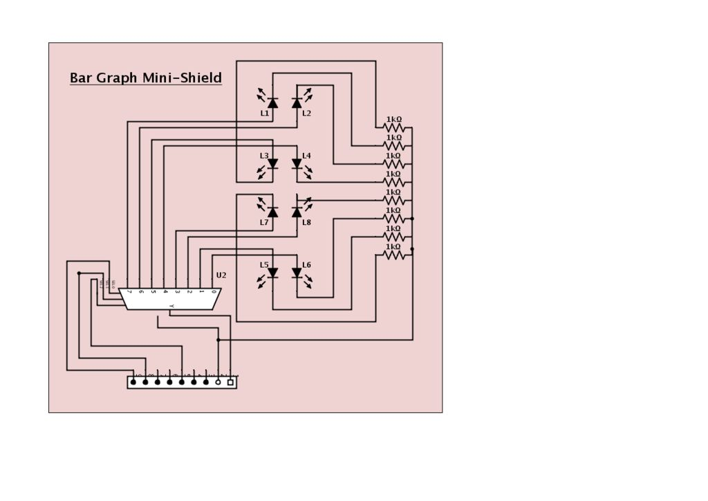 Arduino Mini-Shields schematic