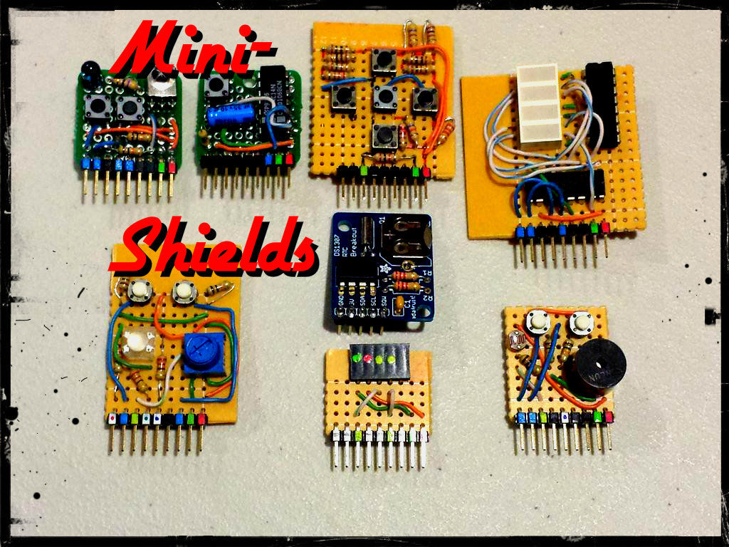 Arduino Mini-Shields